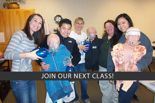 Join our next class